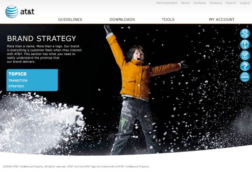 Landing page for Brand Strategy