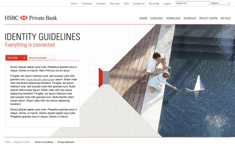 Identity Guidelines homepage