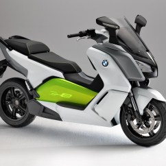 Electrical Motorbike Bmw How To Do A Stem And Leaf Diagram C Evolution Electric Scooter Prototype Politusic