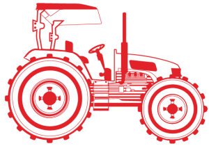 dibujo tractor
