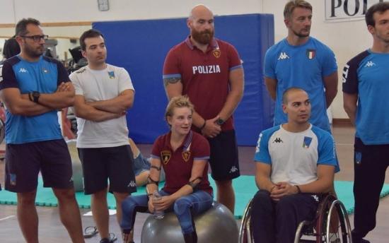 Scherma paralimpica Livorno