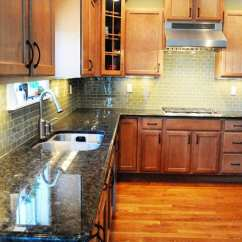 Pictures Of Kitchen Designs Cabinets Discount Green Glass Tile Backsplash - The Polkadot Chair