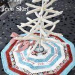 How To Make A Mini Christmas Tree Skirt Polka Dot Chair