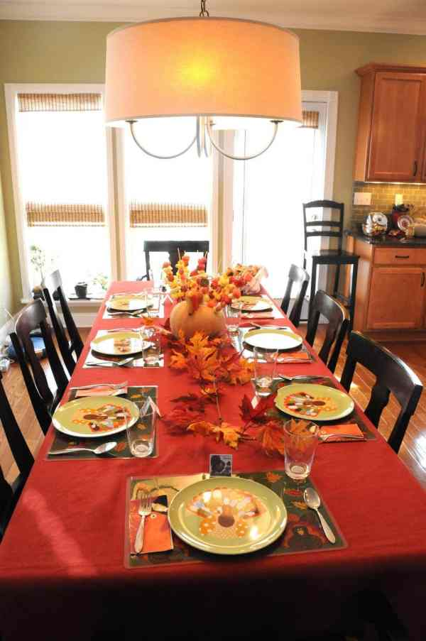 Thanksgiving Decor - The Polkadot Chair