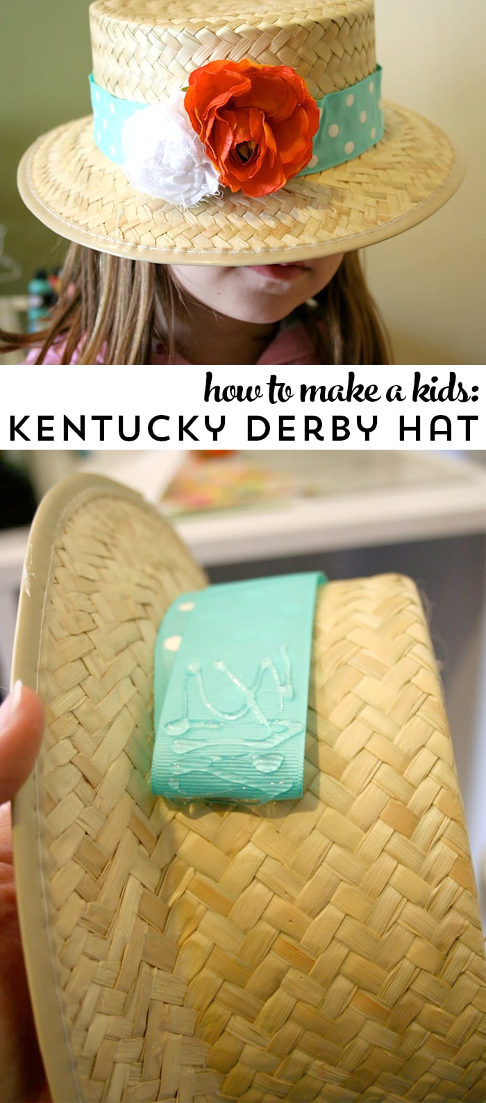 Make your own Kentucky Derby Hat for kids