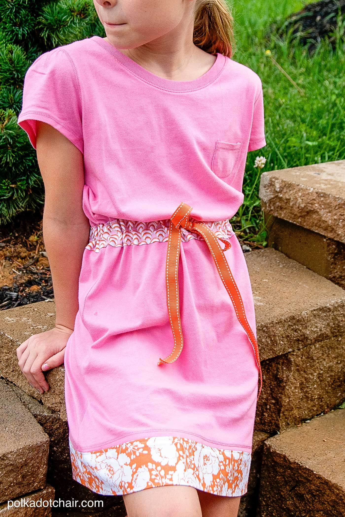 How to Sew a Summer Sundress from Two TShirts