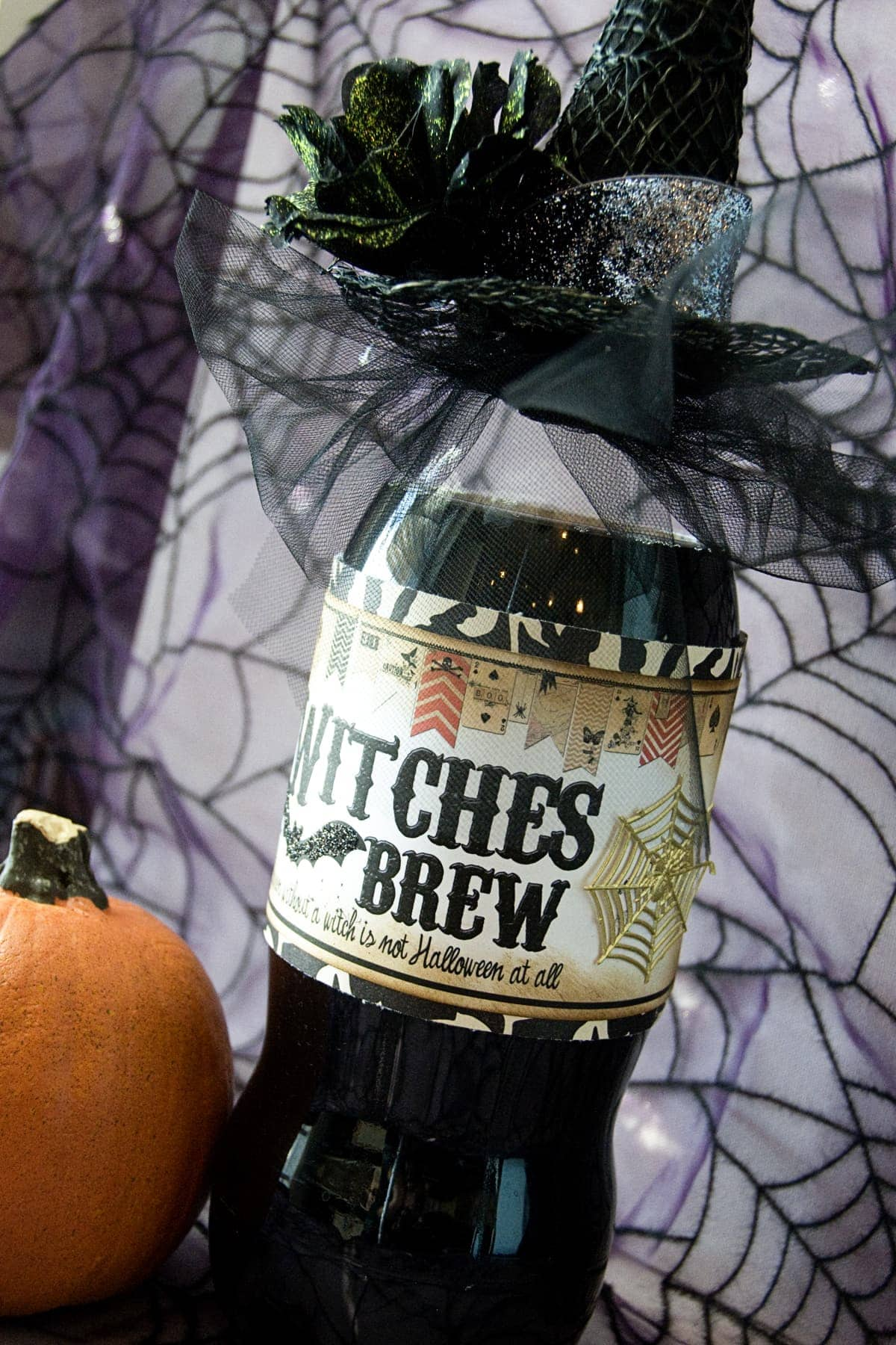 Witches Brew Halloween neighbor gift  The Polkadot Chair