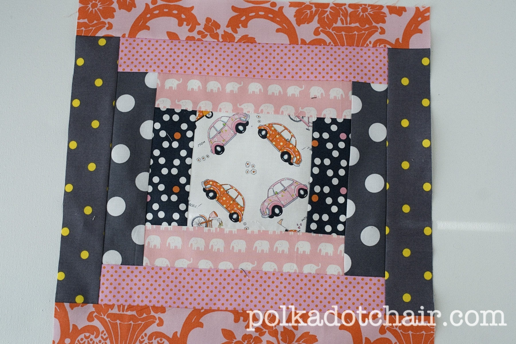 Handmade Christmas Quilt Along Start Sewing  The Polkadot Chair