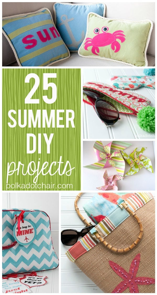 25 Summer DIY Projects The Polka Dot Chair Blog