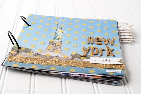 chair covers nyc childrens folding diy photo album, a tutorial for an easy travel scrapbook