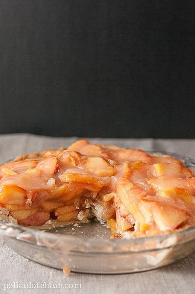 Farm Fresh Peach Pie Recipe the Polka Dot Chair