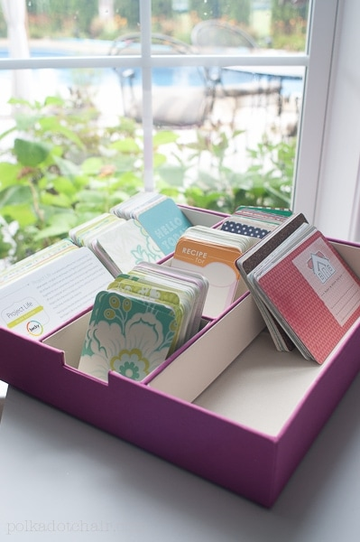 Project Life Scrapbook Pages  Organization Ideas