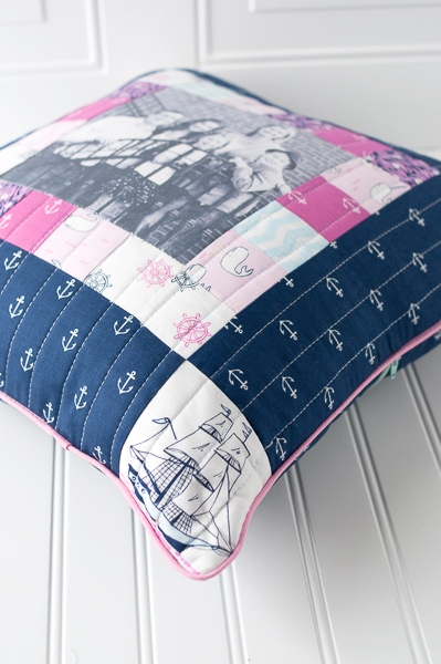 Dorm Room Decorating Ideas Memory Pillow Sewing Pattern