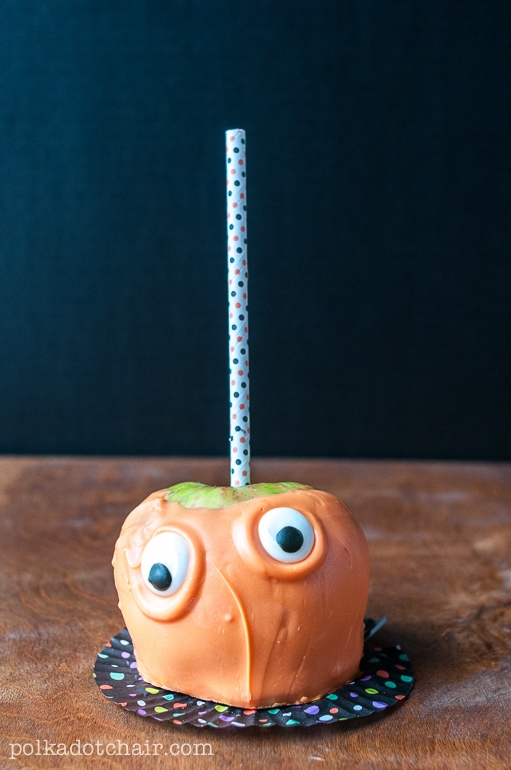 Candy Apple Monsters  Caramel Apple Decorating Ideas
