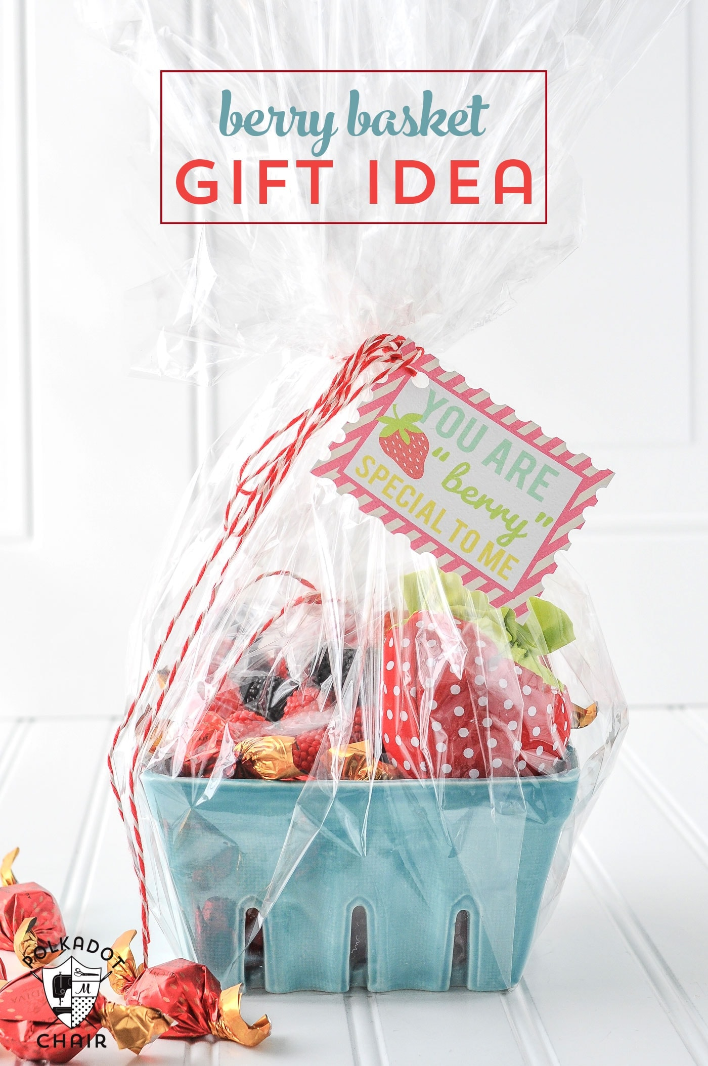 Strawberry Gift Basket Ideas the Polka Dot Chair