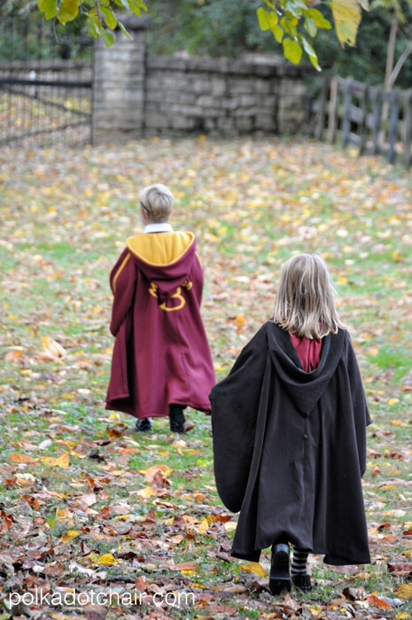 chair covers for you foam toddler canada make your own quidditch robes; a diy harry potter costume