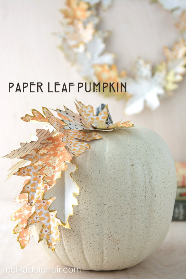 Paper Leaf Autumn Wreath Tutorial and lots of Gorgeous
