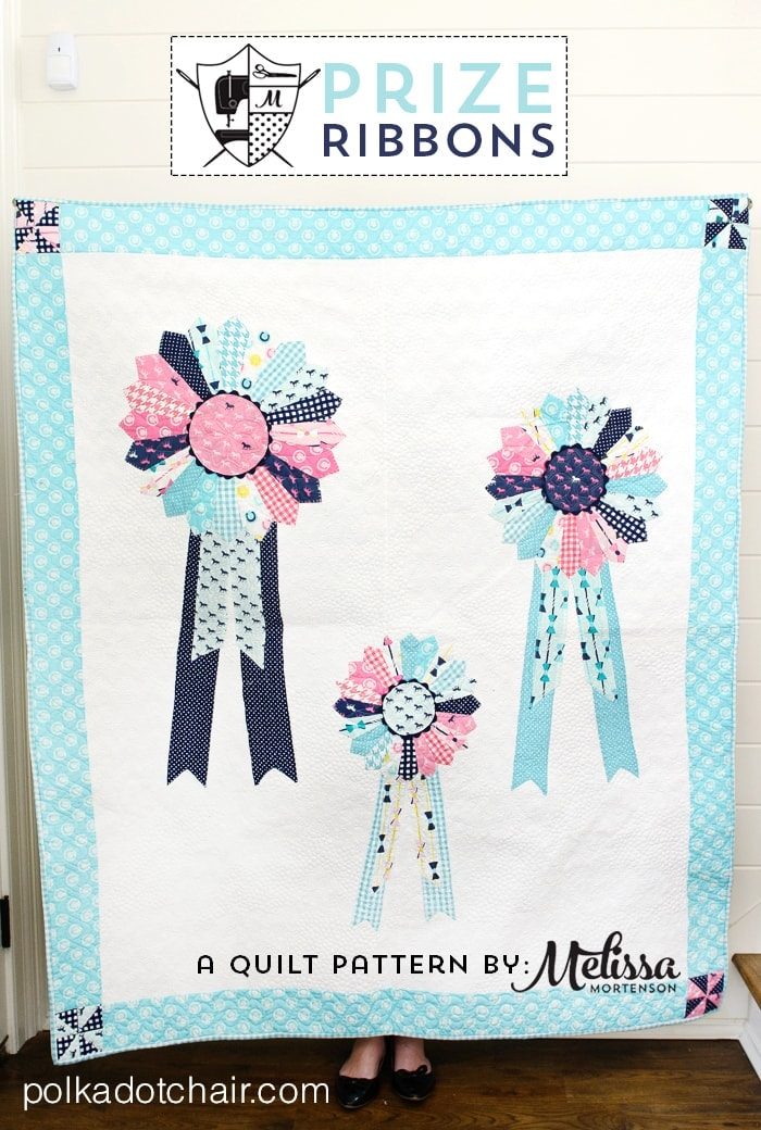 Derby Style Prize Ribbons Quilt Patterns