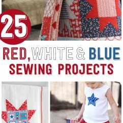 Red Blue Chair Power Wheelchair Batteries 25 4th Of July Sewing Projects