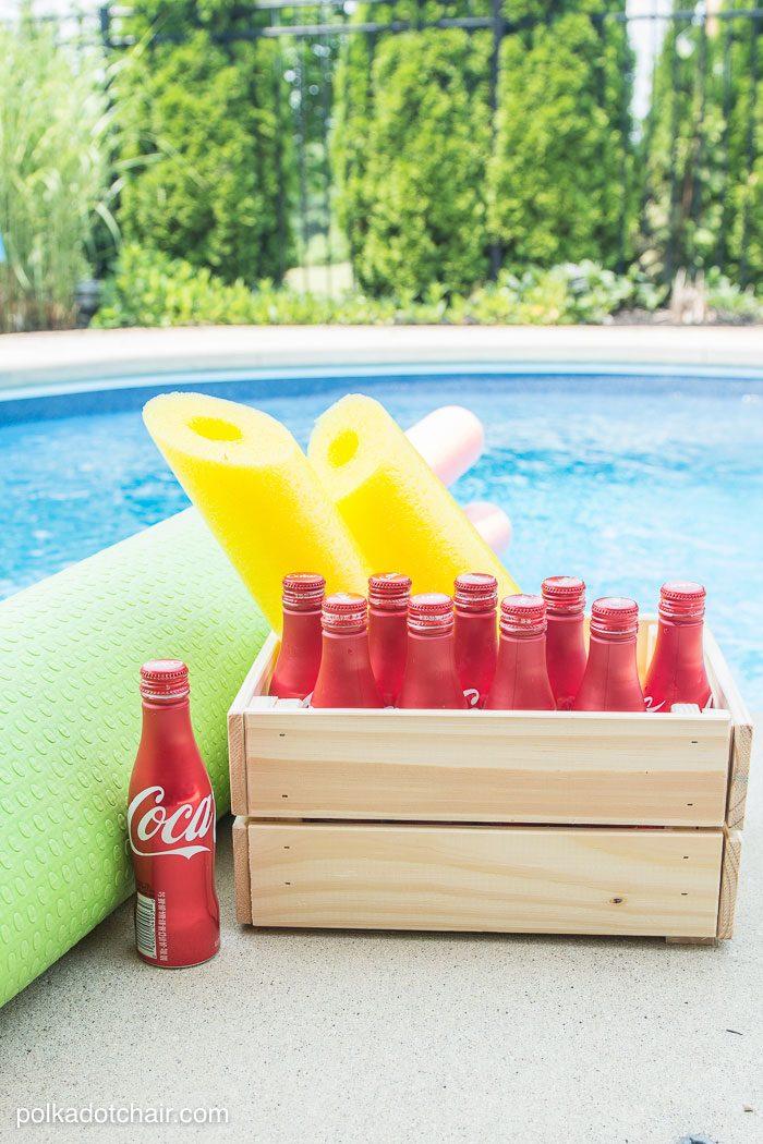 DIY Coke Bottle Outdoor Bowling Game