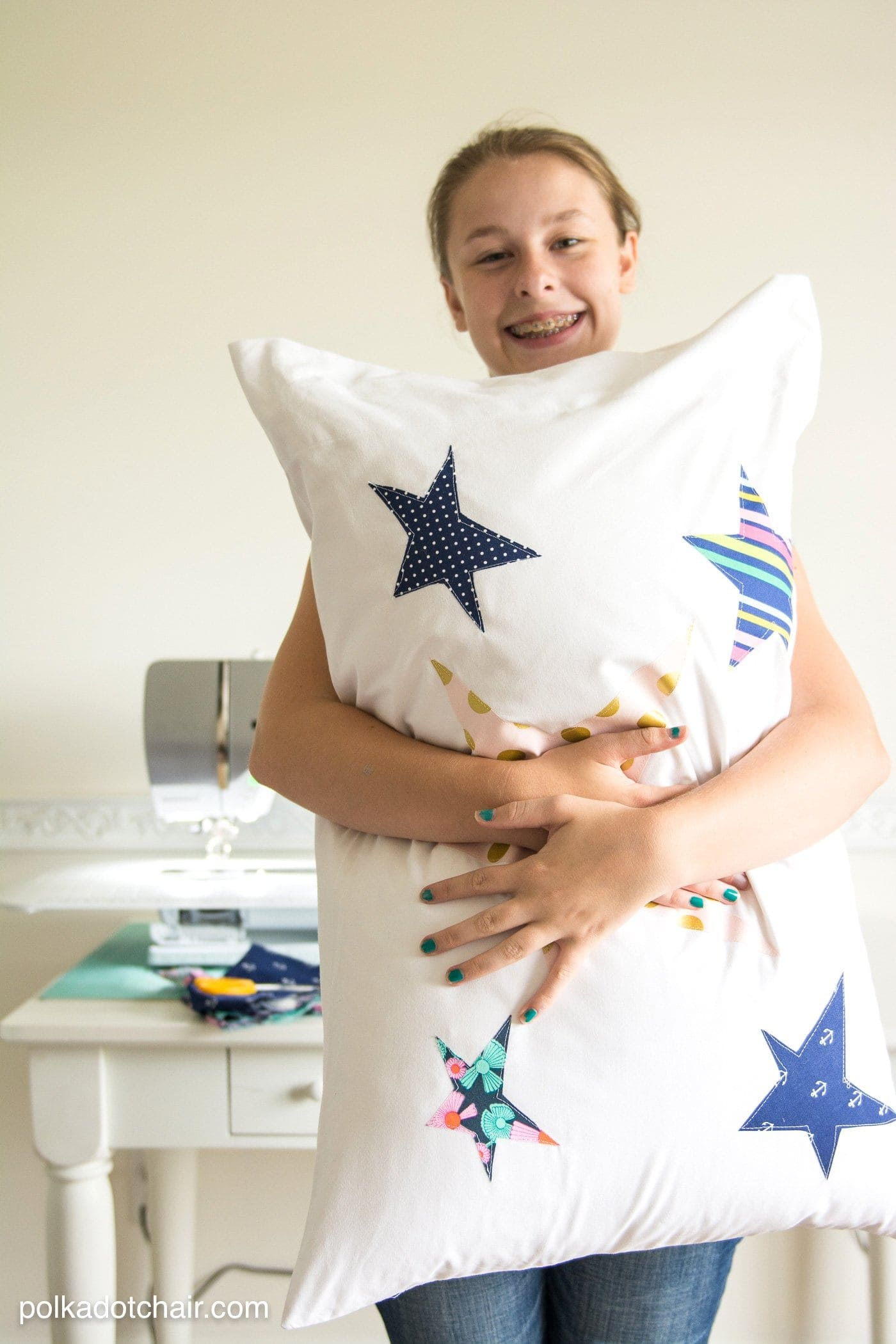 Sewing Projects for Kids a Pillowcase Project