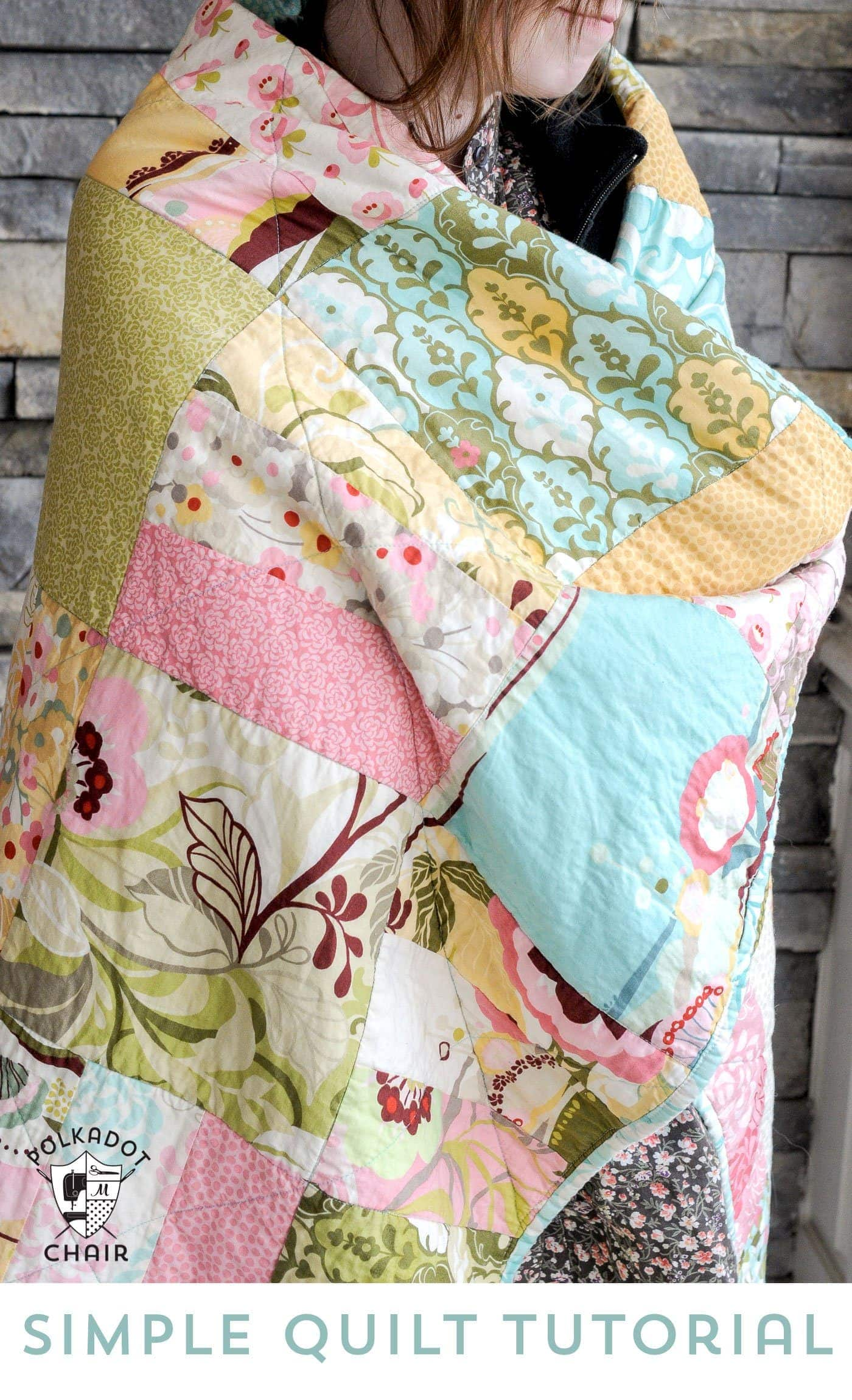 Tuesday Tutorial Snuggly Layer Cake Quilt Amp A March Bag