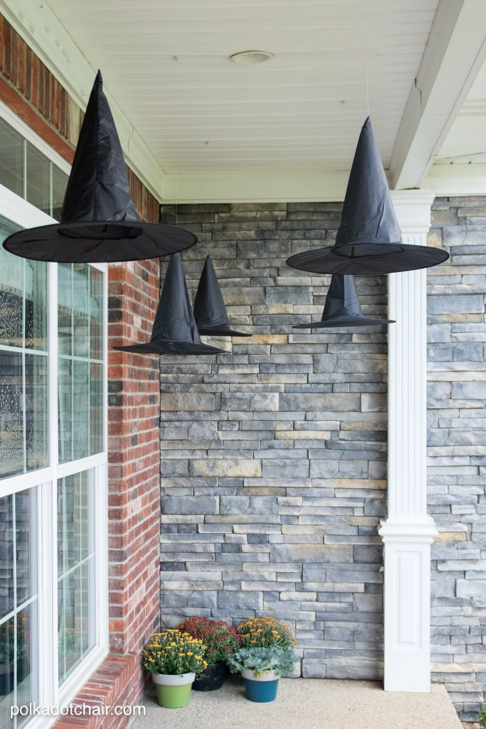 Diy Floating Witch Hat Luminaries Polka Dot Chair