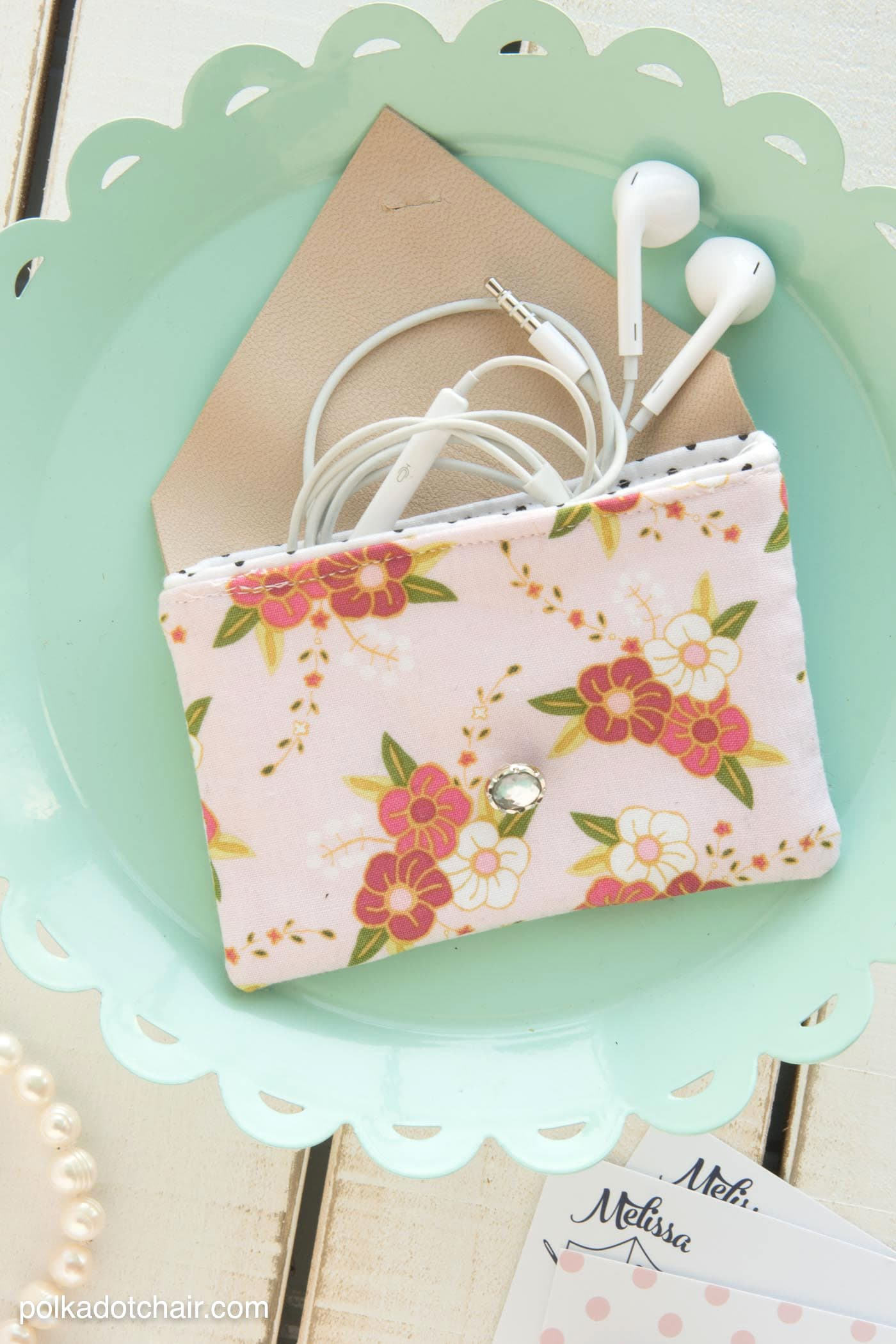 DIY Earbuds Case Sewing Pattern  The Polka Dot Chair