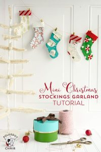 More than 25 Cute Things to Sew for Christmas - The Polka ...