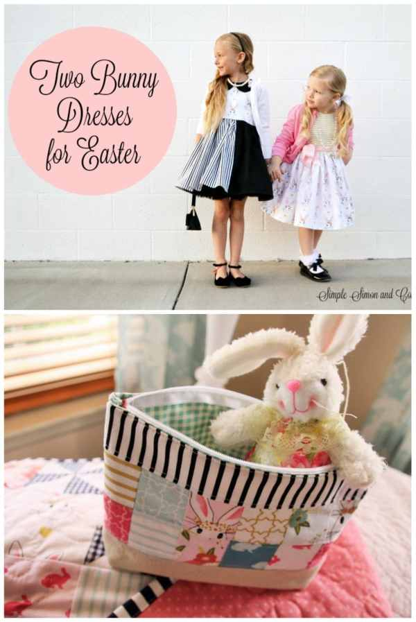 Pinwheel Quilt & Easter Dress Ideas - Polka Dot Chair