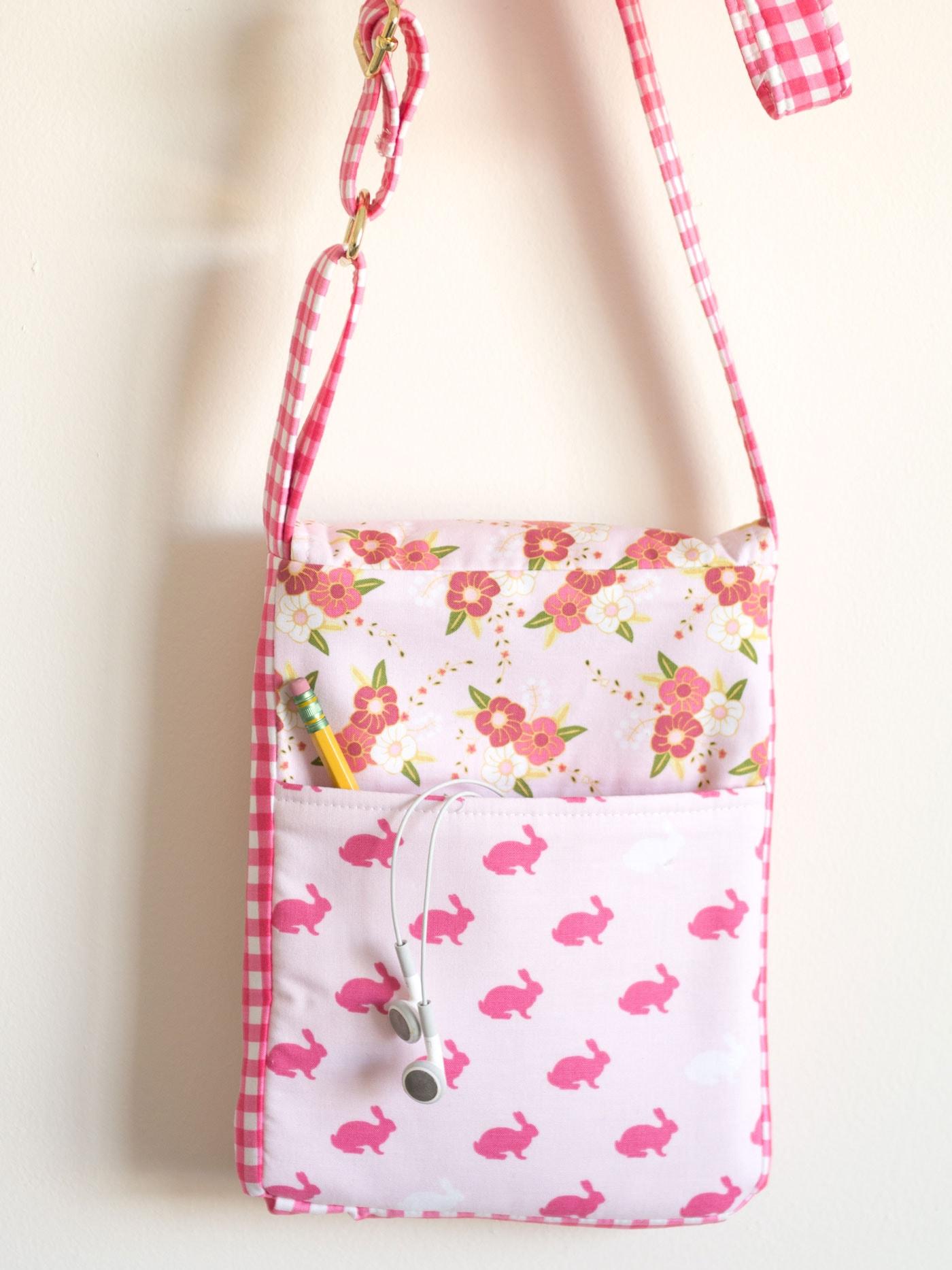 Cross Body Bag Sewing Pattern  The Polka Dot Chair