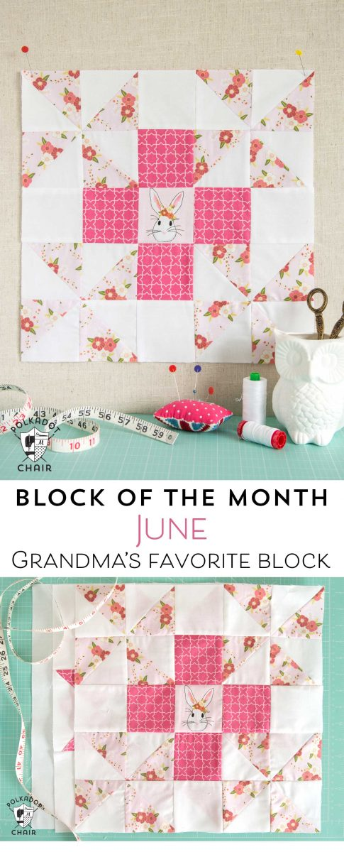 the love chair farmhouse kitchen table and chairs sets june block of month; a grandma's favorite quilt tutorial - polka dot