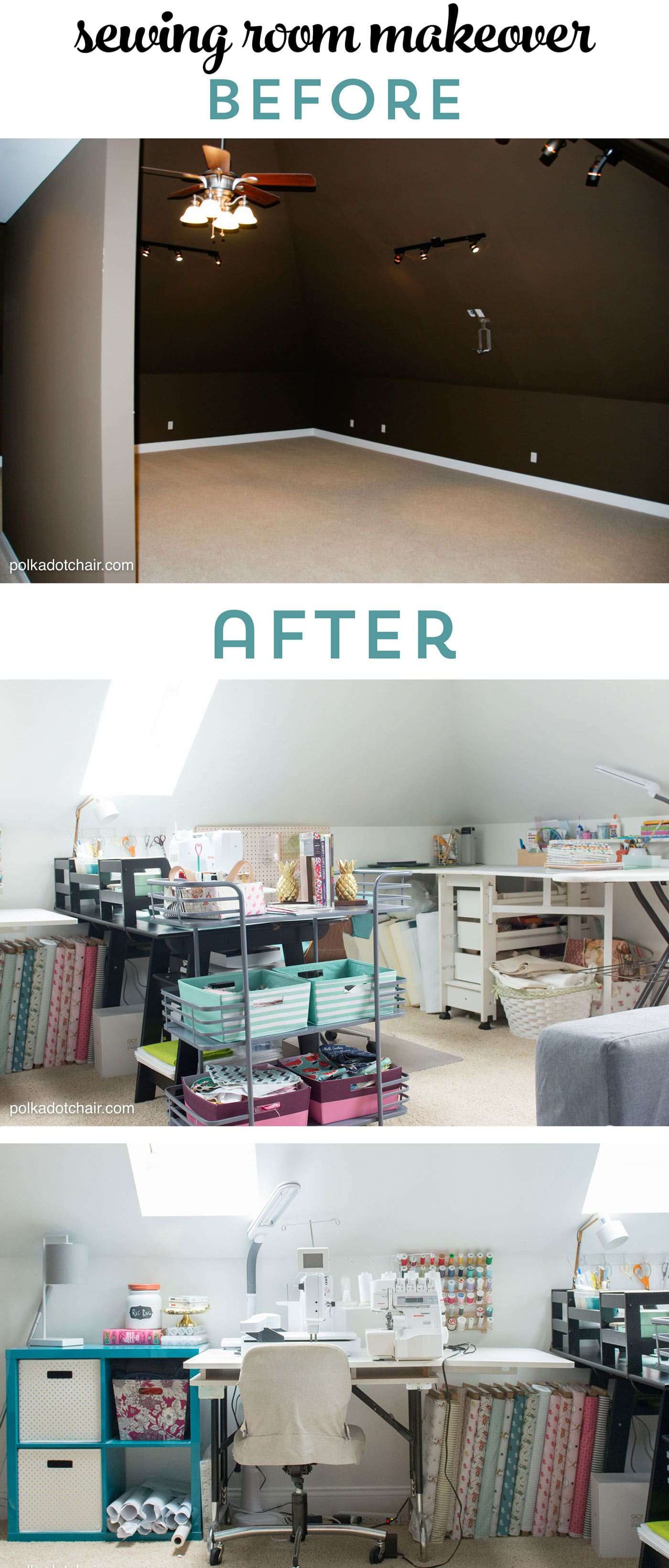 chair for bedroom design report cute & clever sewing room organization ideas homegoods giveaway! - the polka dot