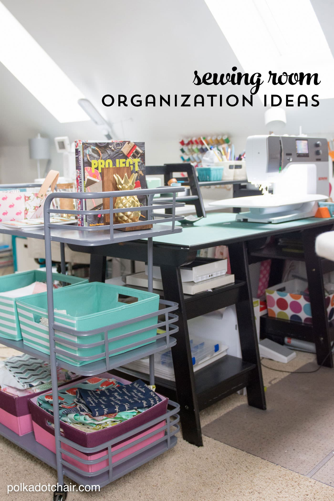 Room Makeover Reveal Sewing Room Ideas