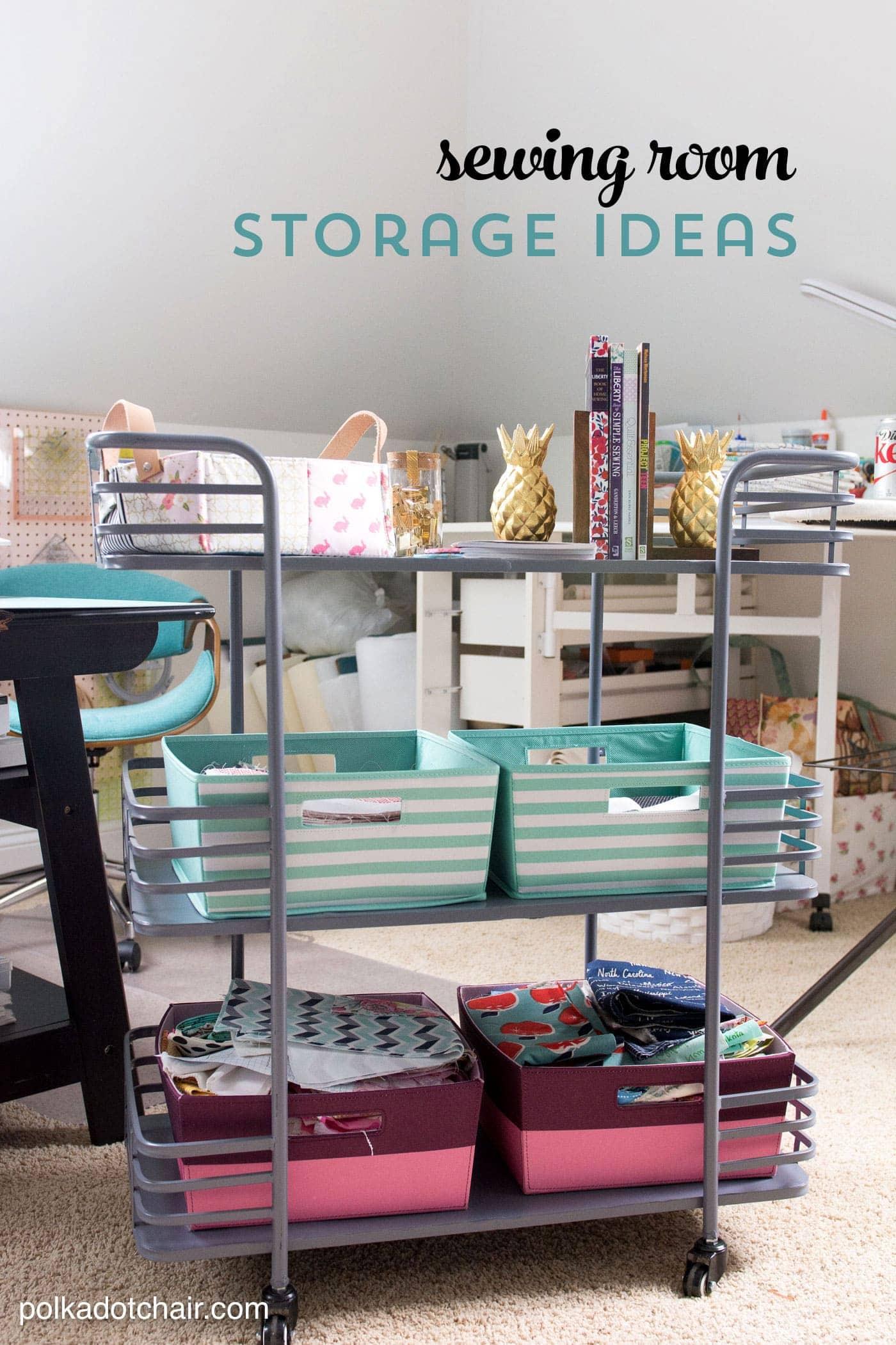 Cute U0026 Clever Sewing Room Organization Ideas U0026 HomeGoods Giveaway!