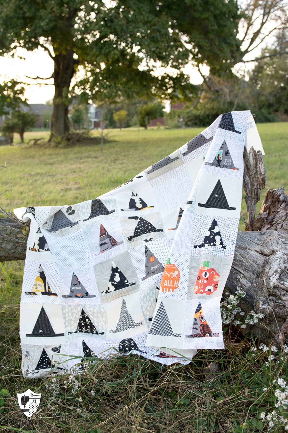 Introducing the Halloween Haberdashery Quilt Pattern  The