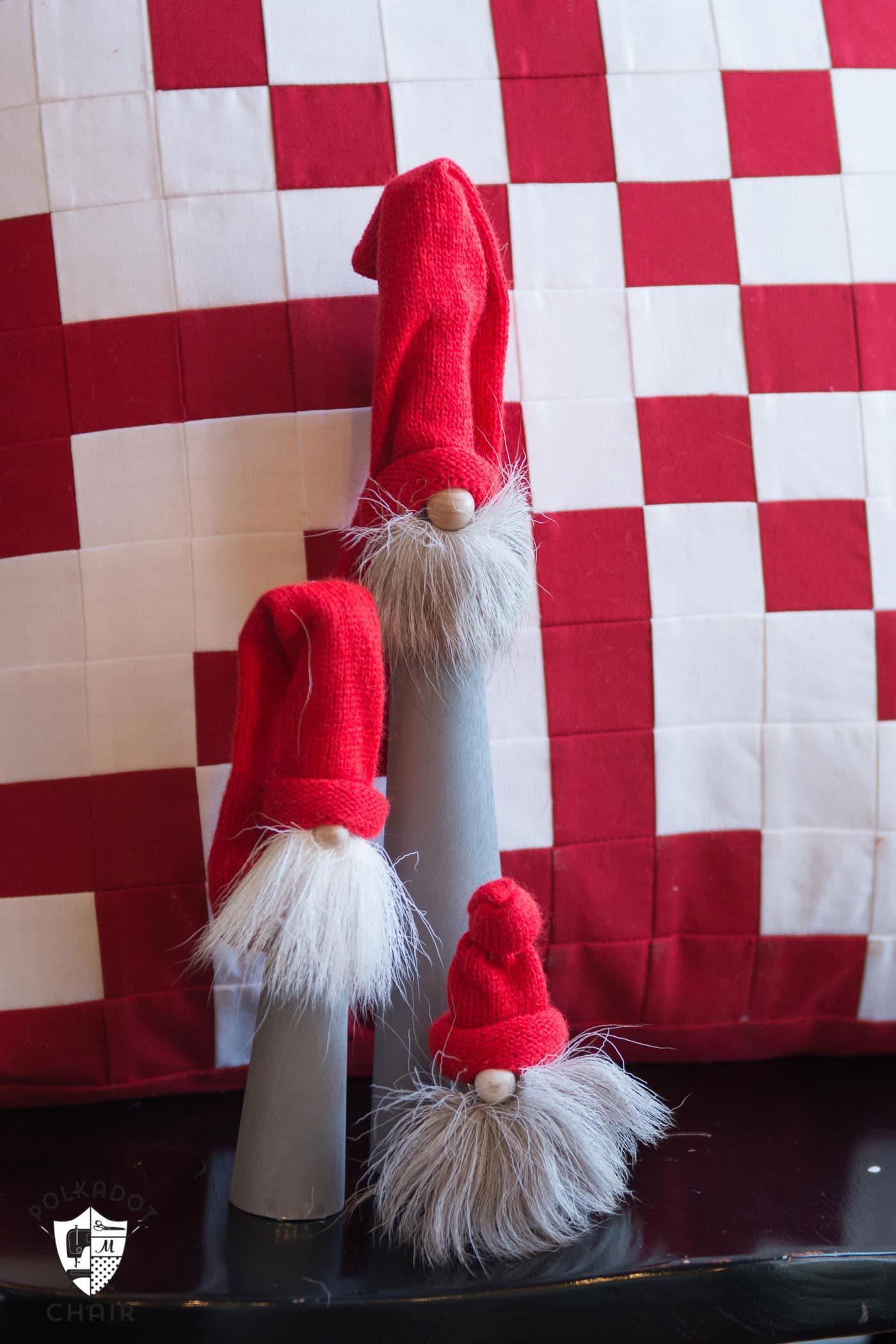 Tomte Christmas Gnome Pillow Pattern  The Polka Dot Chair