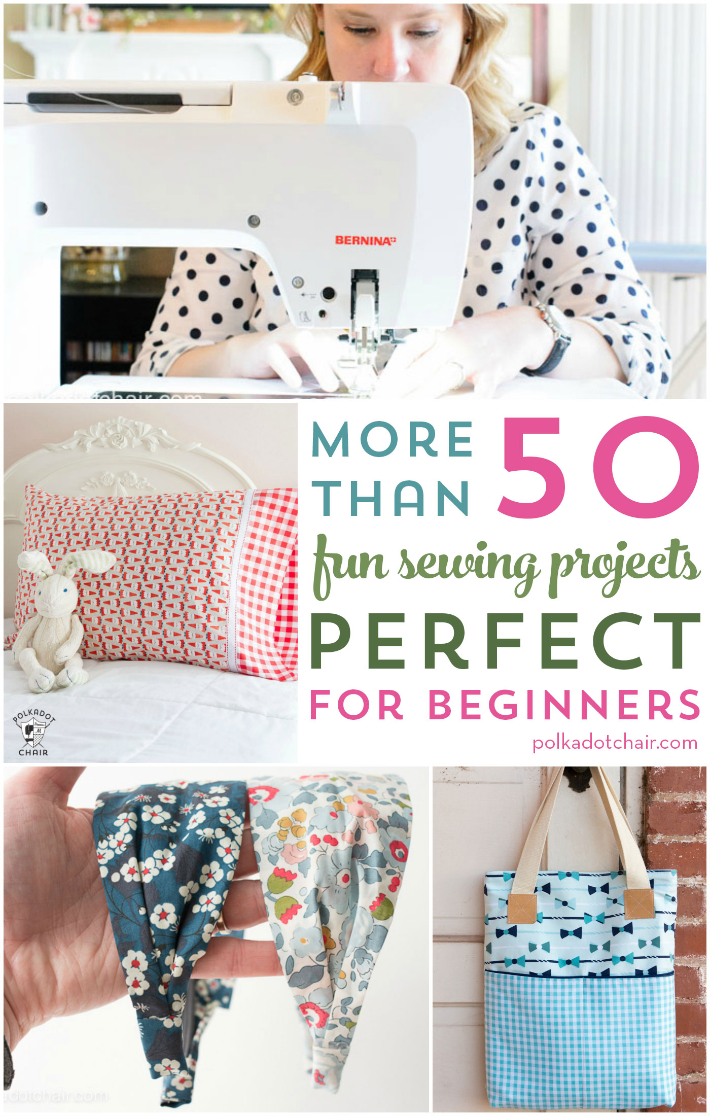 More Than 50 Free Sewing Patterns Perfect For Beginners