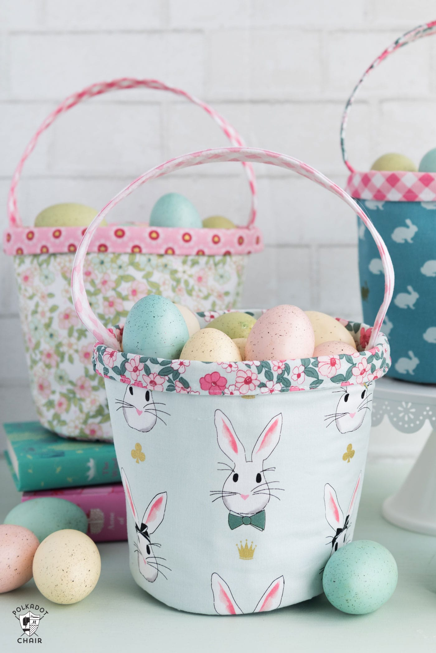 Easter Basket Sewing Pattern  The Polka Dot Chair