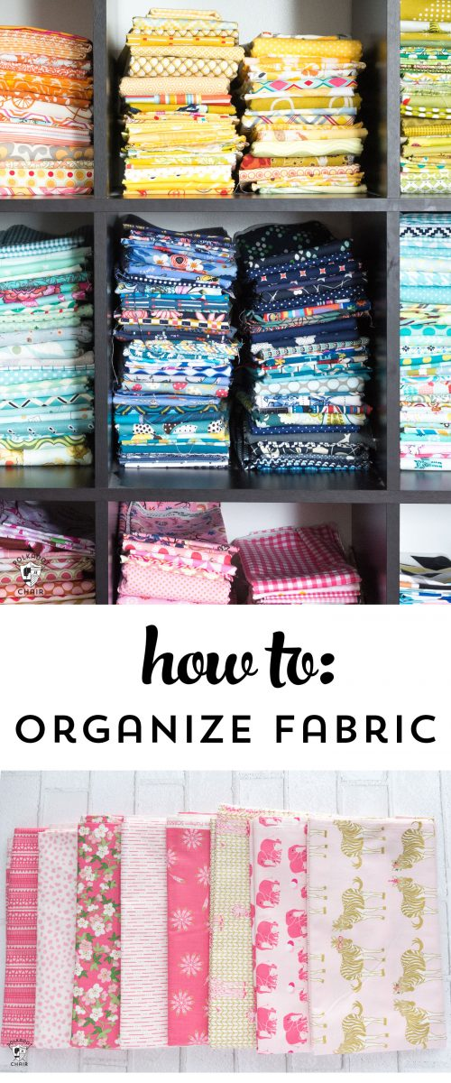 5 Clever Tips to Organize Your Fabric Stash  The Polka