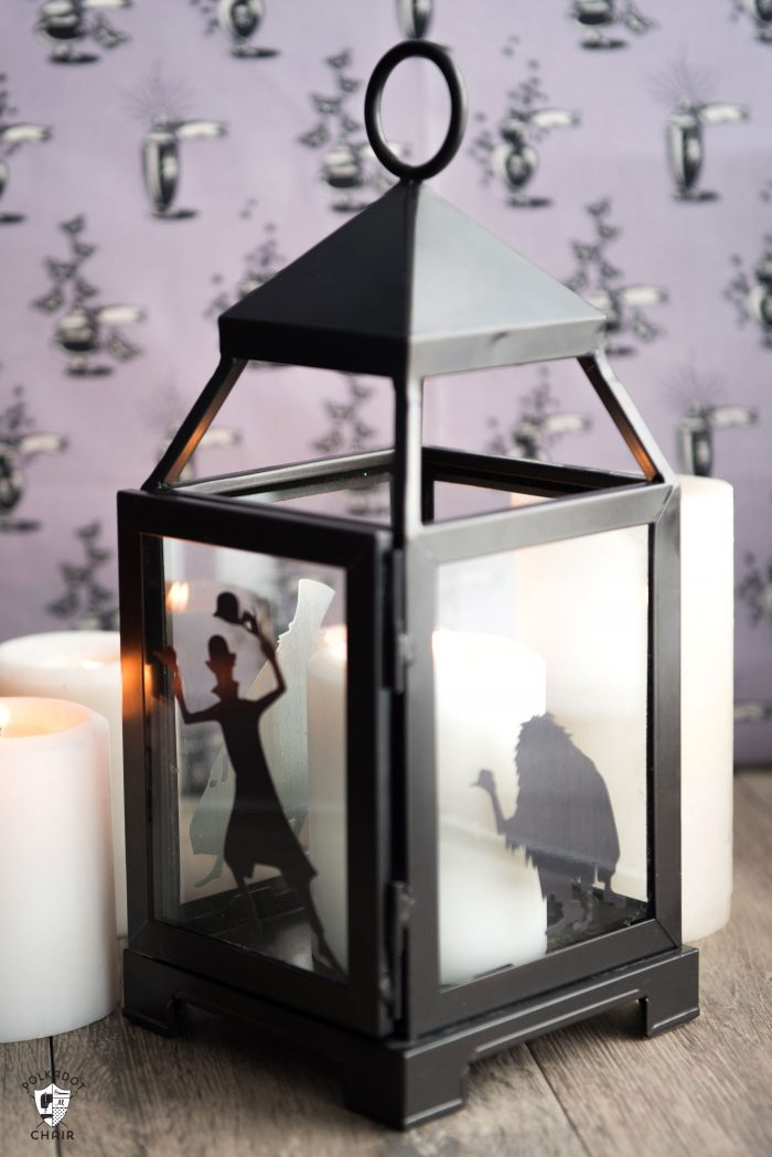 DIY Halloween Decor ideas Haunted Mansion Inspired Lanterns