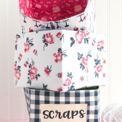 Chair Design With Handle Covers Sash Fabric Basket Sewing Pattern For The Cricut Maker - Polka Dot