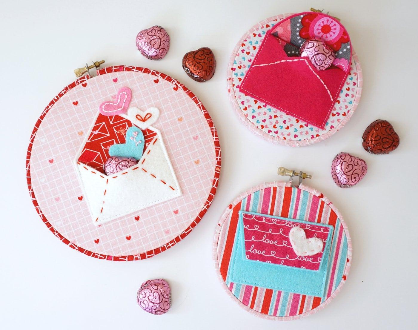 Valentine Felt Envelope Pattern  The Polka Dot Chair