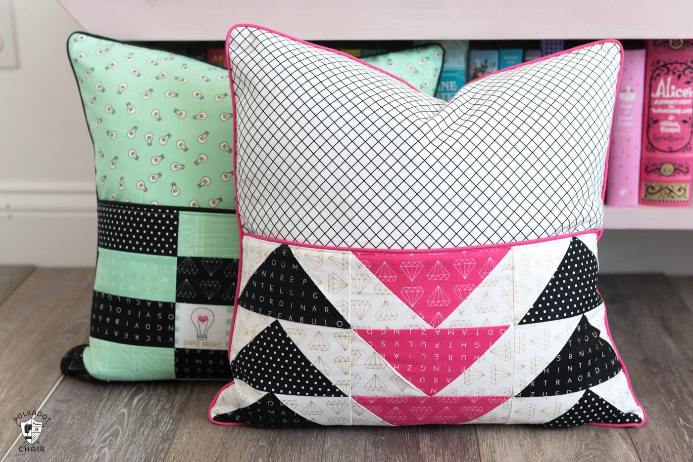 no sew chair pockets ergonomic more diy reading pillow patterns the polka dot