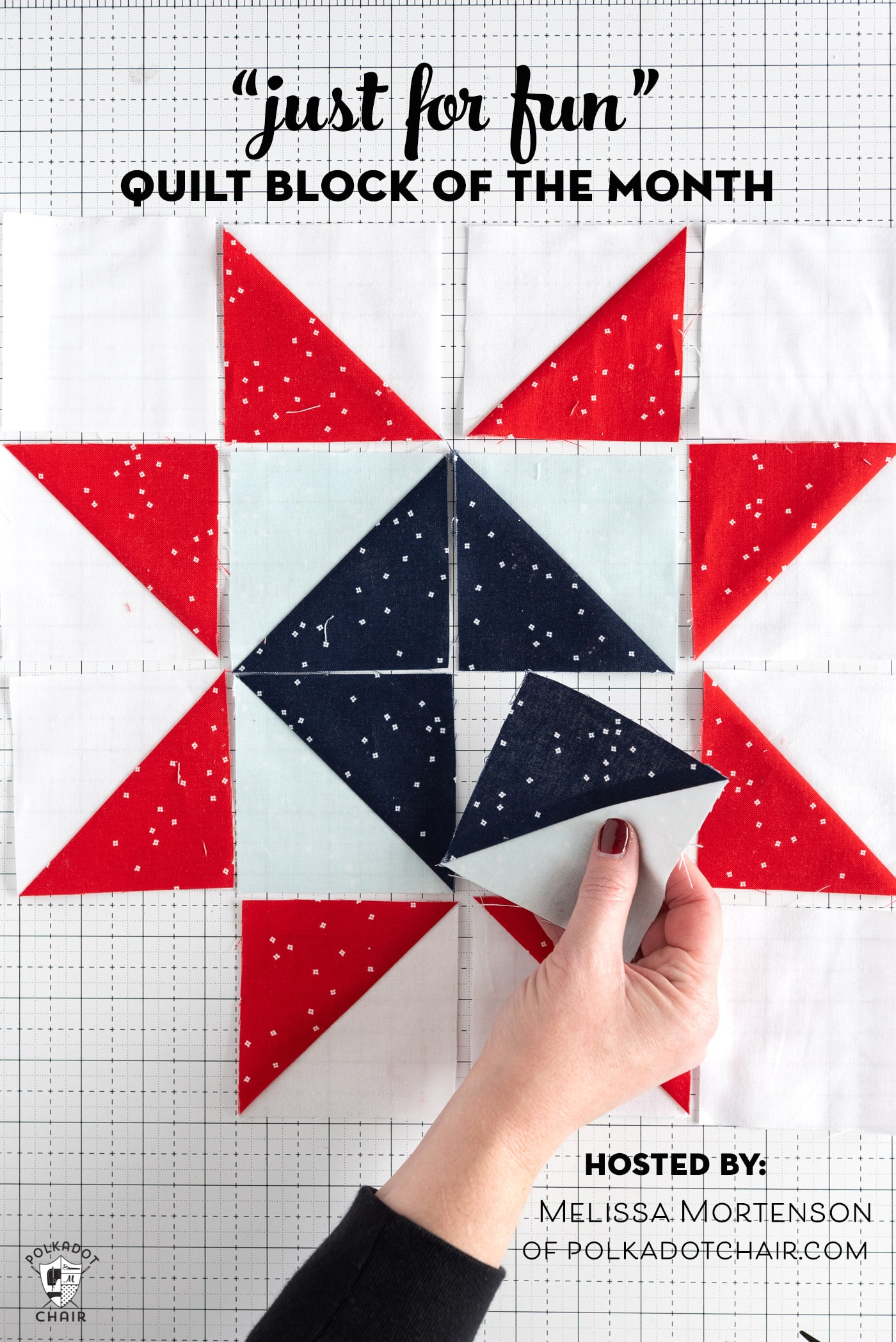 Announcing the Just for Fun Quilt Block of the Month  The