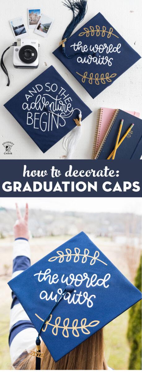 diy graduation cap decorating