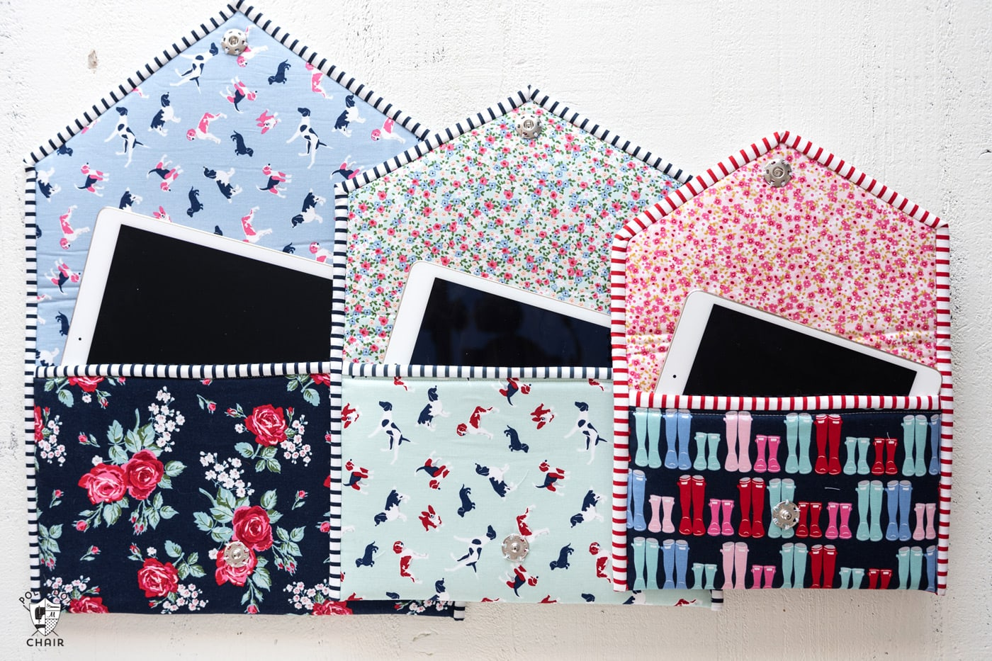 New Sewing Pattern The Busy Day Tablet Case  The Polka