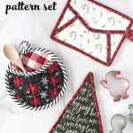 Quilted Christmas Potholder Pattern The Polka Dot Chair