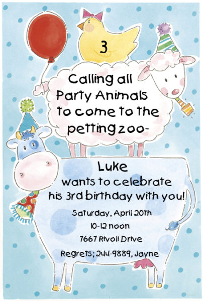 kids party wording ideas page 2 polka