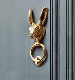 solid brass hare door knocker polka dot pie argentinian polo belts and dog collars [ 1000 x 1000 Pixel ]
